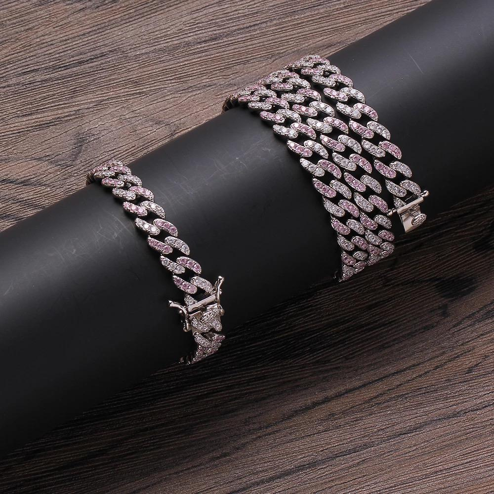 8.5mm Diamond Cuban Chain