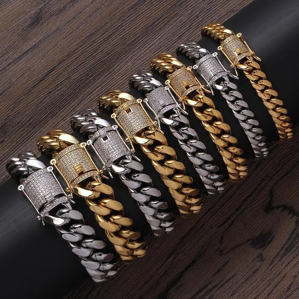 Miami Cuban Bracelet - Available in Different Width