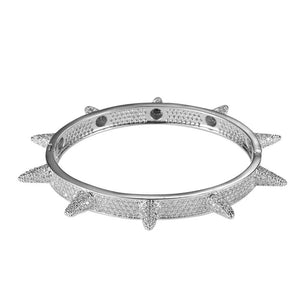 Diamond Spiked Bracelet