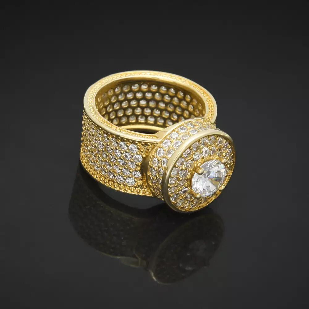 Cubic Zircon Stone Iced Out Ring