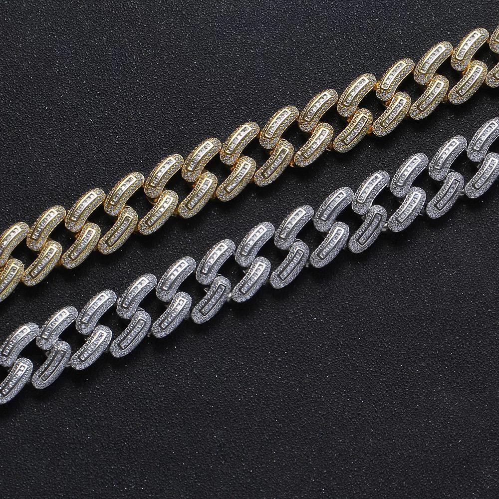 20mm Diamond Cuban Chain