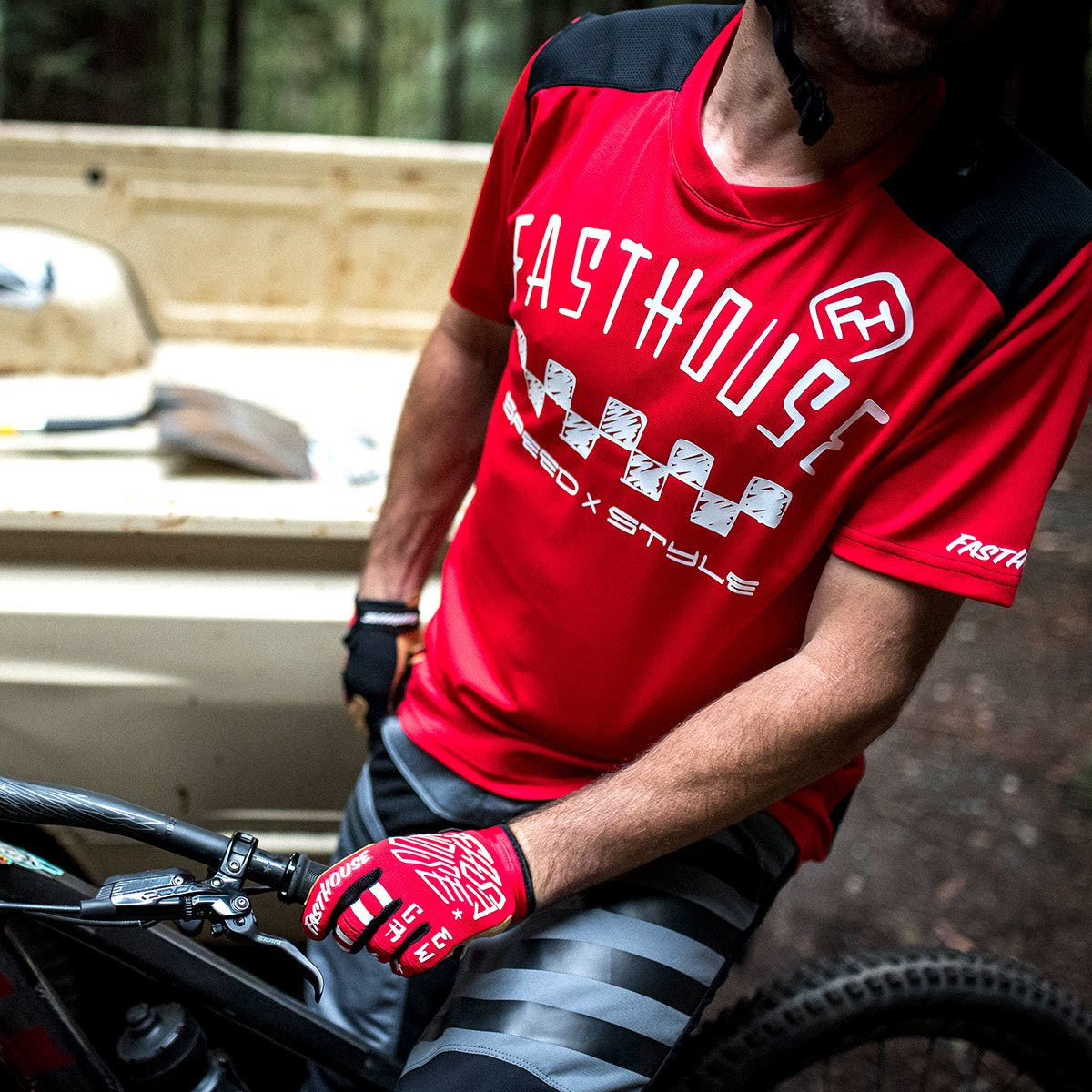 Alloy Nelson SS Jersey - Red