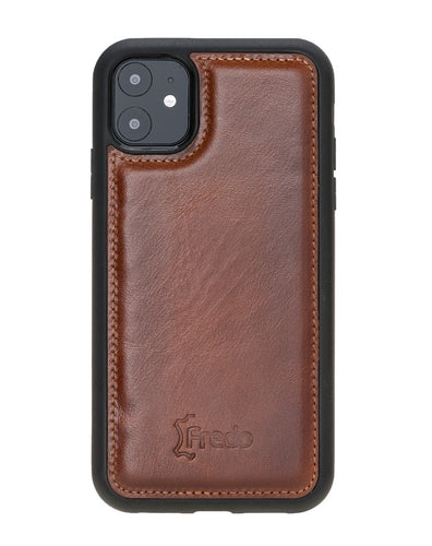 iPhone 11 6.1 Zoll Flex Ultra Slim Cover Handyhülle -Cognac Braun-0