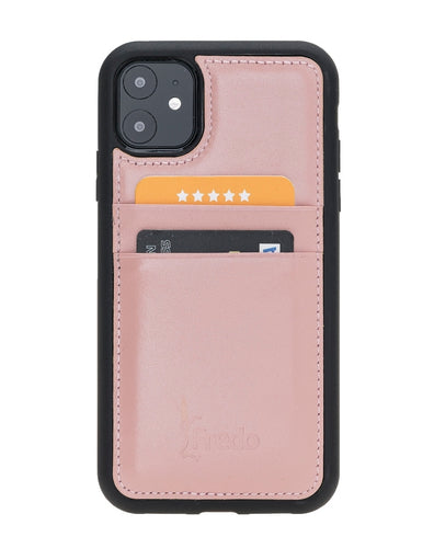 iPhone 11 6.1 Zoll Reflex Ultra Slim Cover Handyhülle -Nude Pink-0