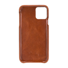 "Lade das Bild in den Galerie-Viewer, iPhone 11 6.1"" Leder Case ""Cool"" (Cognac Braun)"