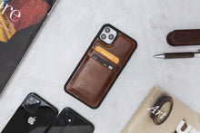 Lade das Bild in den Galerie-Viewer, iPhone 11 Pro Max 6.5 Zoll Flex Ultra Slim Cover Handyhülle -Cognac Braun-3847