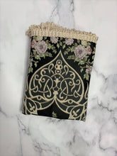 Load image into Gallery viewer, Floral Black Royal Sejadah Luxury Prayer Mat