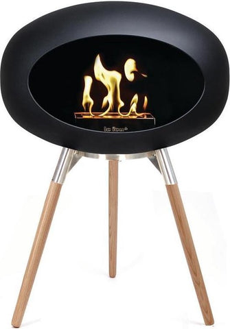 Ground Wood 45cm Black - Le Feu (Zeep Behandeld Eiken)