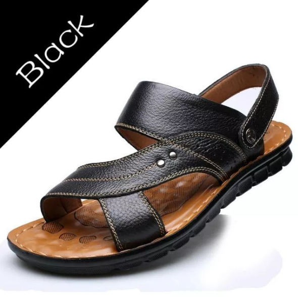 Men's Summer Genuine Leather Sandals