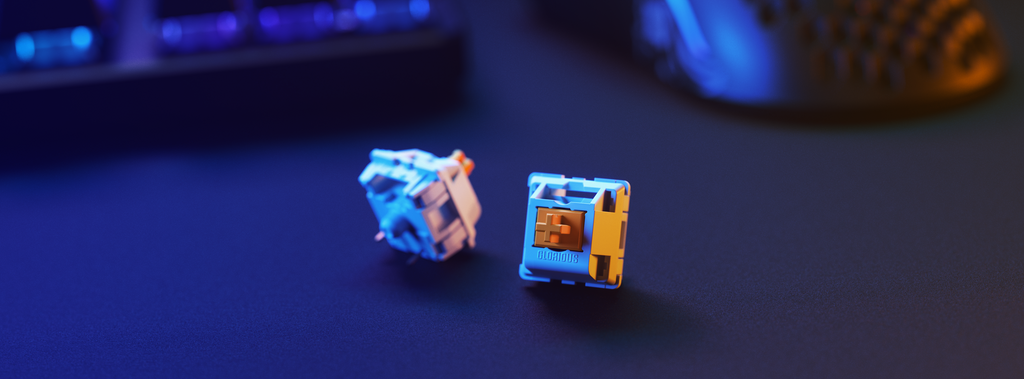 Glorious Panda mechanical switches