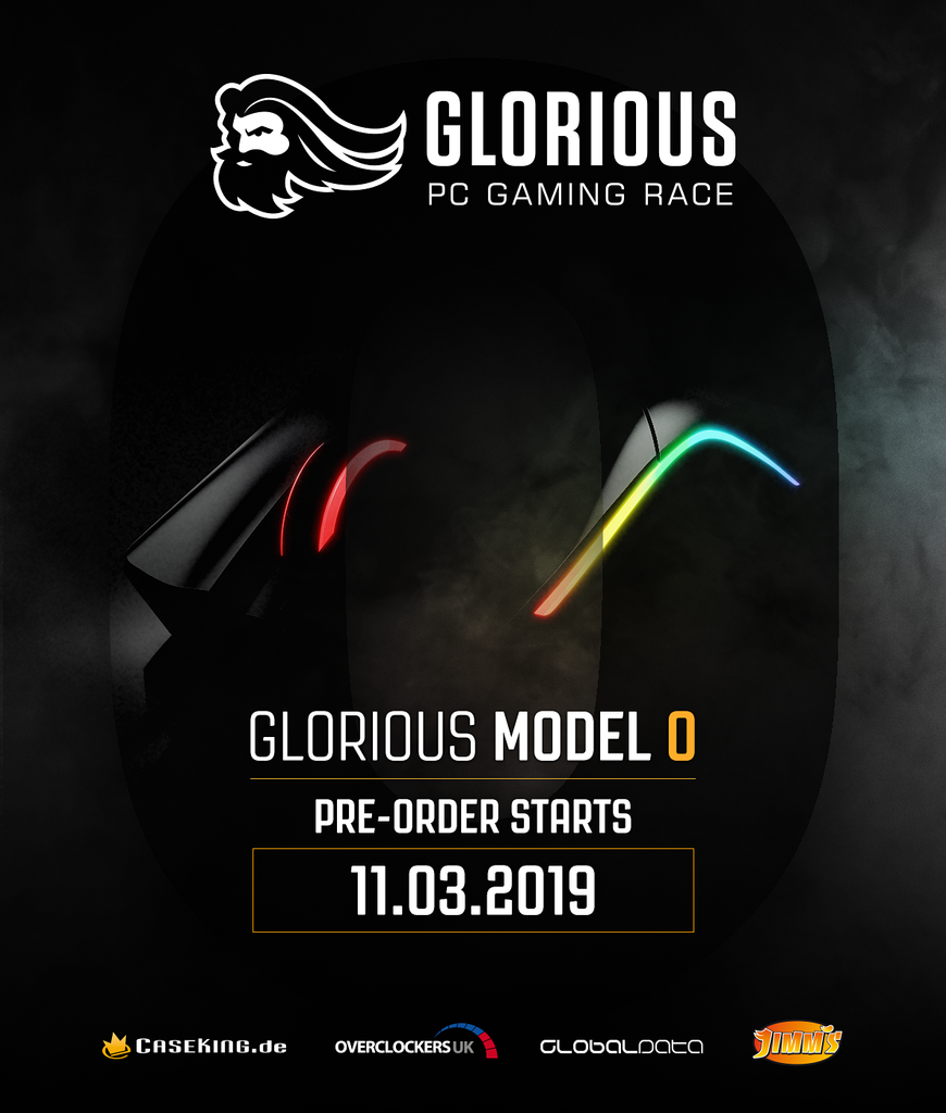 Glorious Model O - European Pre-Order Information