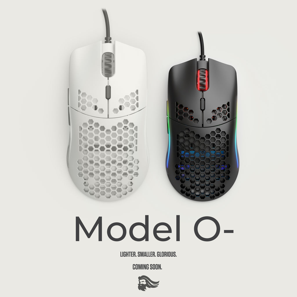 The Glorious Model O- is coming.