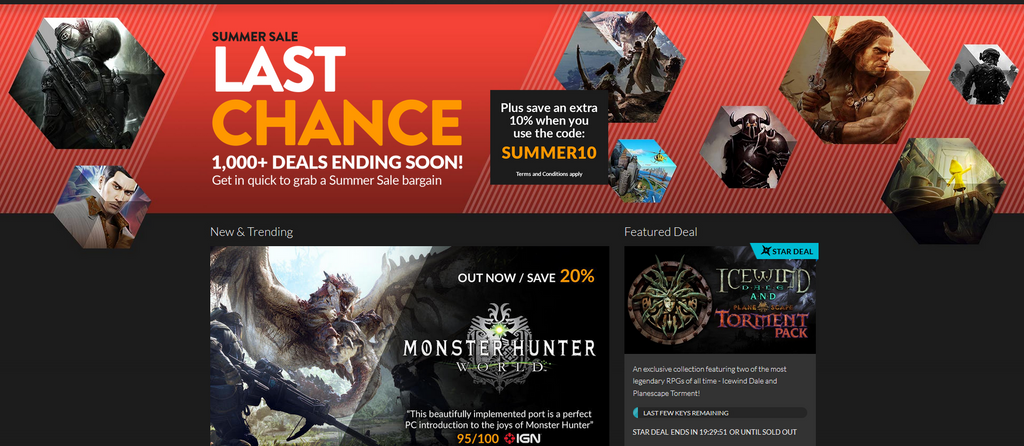 The Fanatical summer sale is ending today - check out these hot deals
