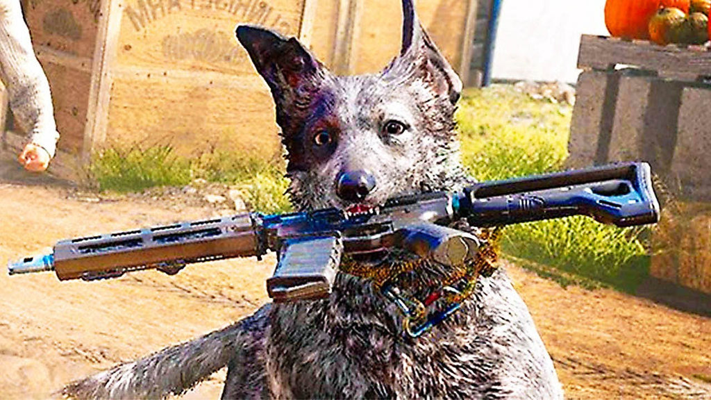 Watch this cool Far Cry 5 - Boomer the Dog gameplay trailer