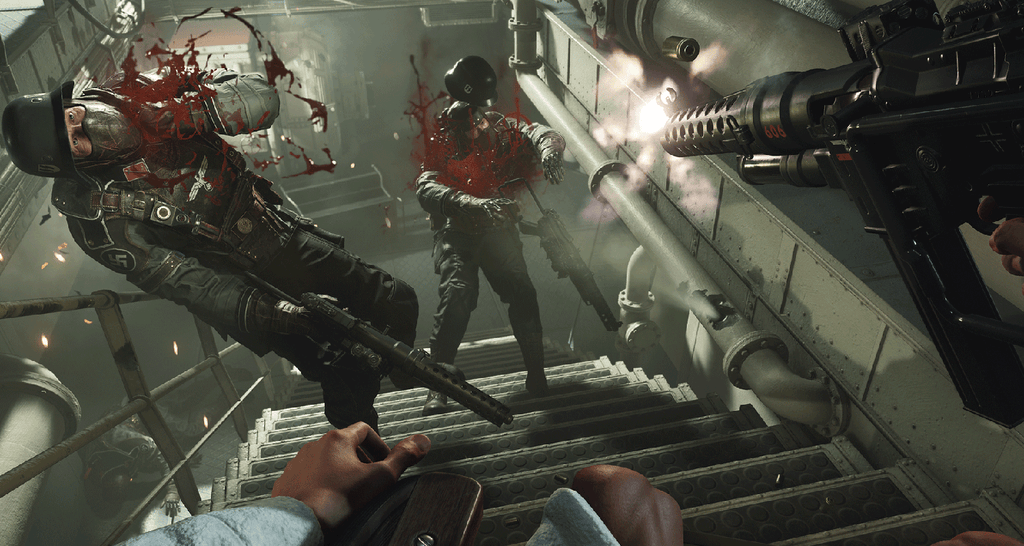 Watch an hour of Wolfenstein II: The New Colossus gameplay