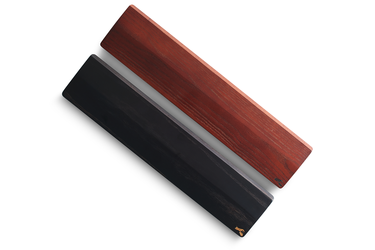 Our wooden wrist rests are all about the comfort plus that extra dash of stability.