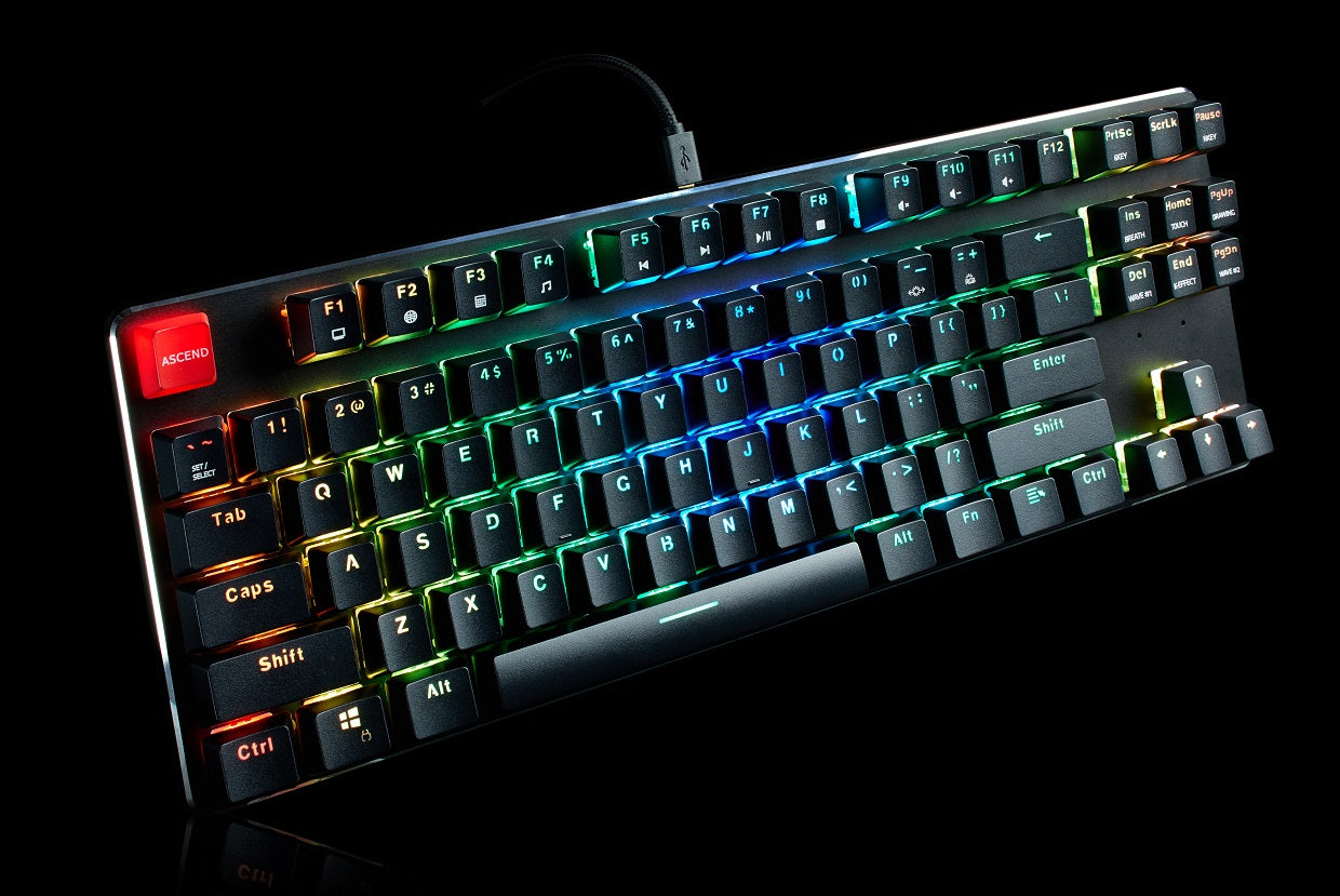 Our very own GMMK-TKL keyboard performs great in games like Destiny 2.