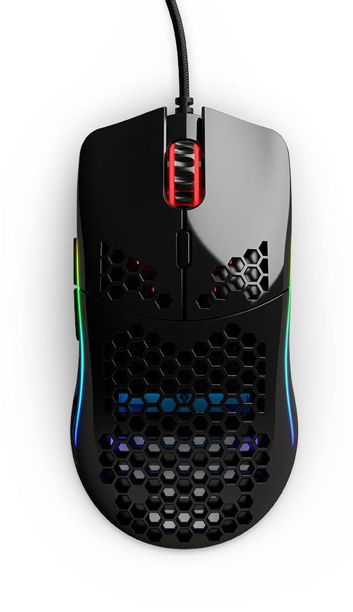 Glorious Model O (Matte White) - The World's Lightest RGB Gaming
