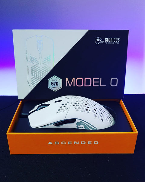 Glorious Model O is our first gaming mouse on the market.