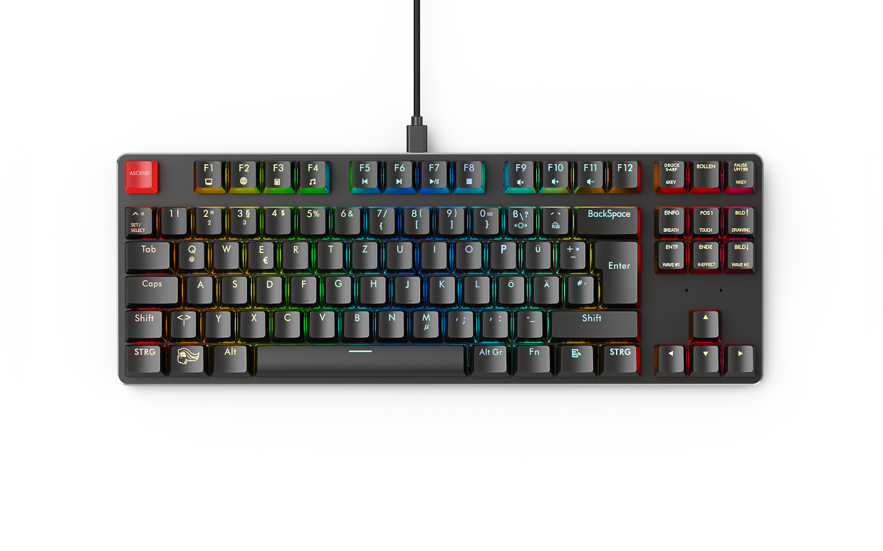 All our keyboards now come in ISO layouts as well!
