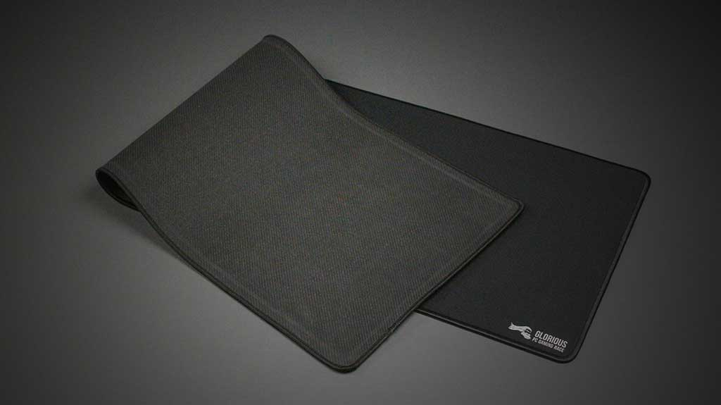 The base of a gaming mousepad