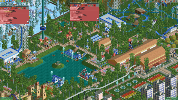 Player finishes theme park in Rollercoaster Tycoon 2 after a decade