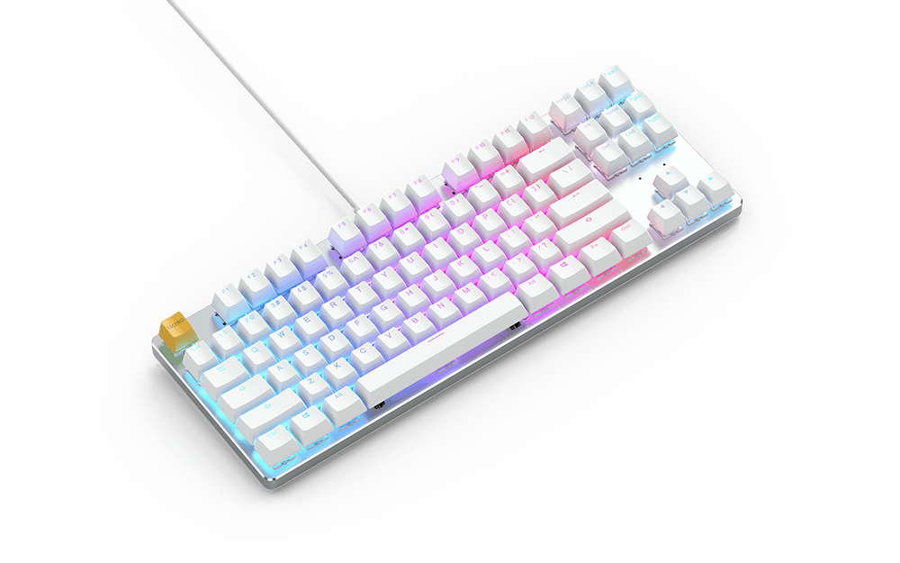 GMMK White Ice Edition - TKL (Pre-Built)