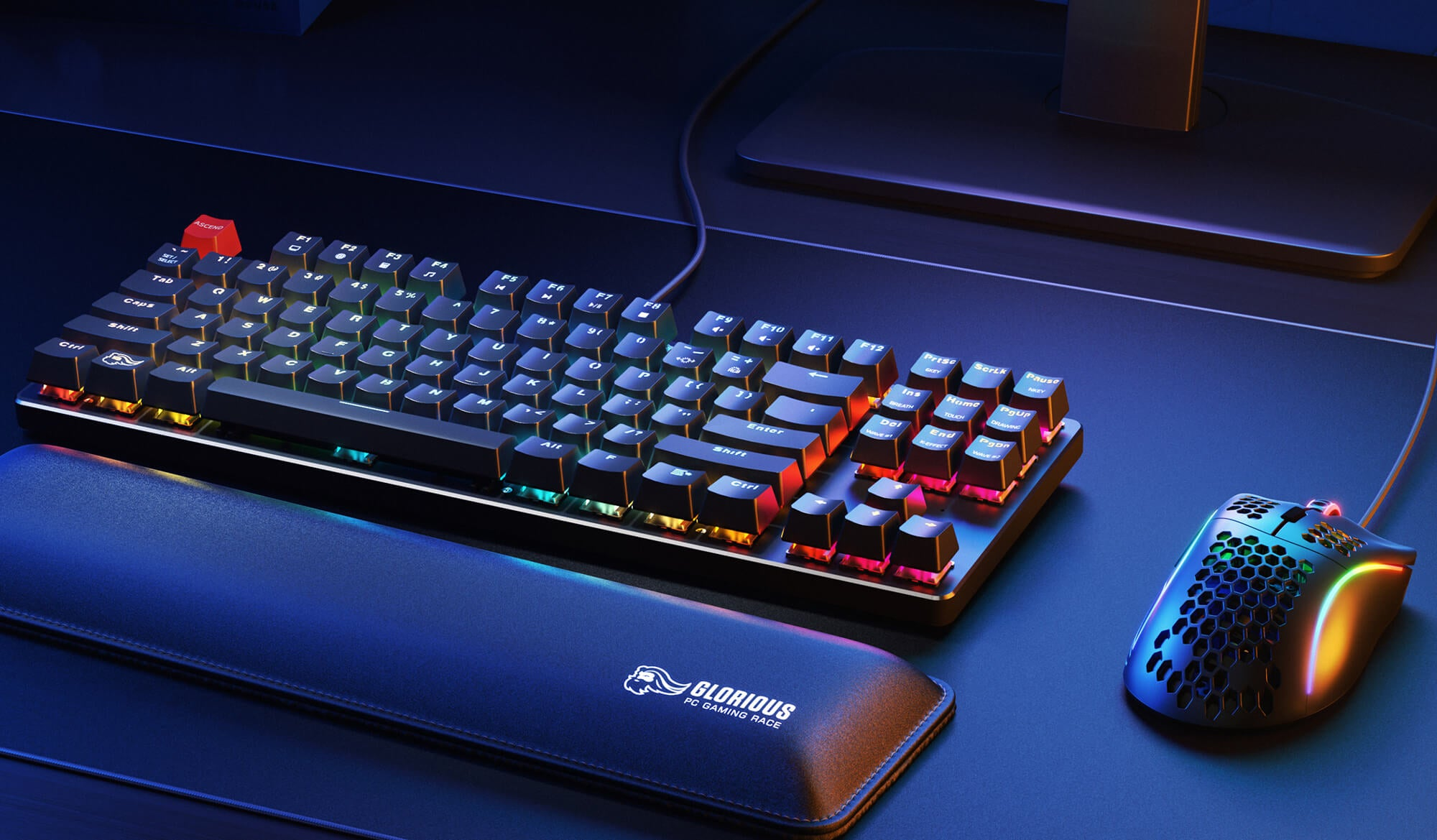 Glorious Gaming mouse and keyboard