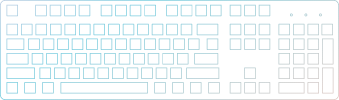 full size keyboard icon