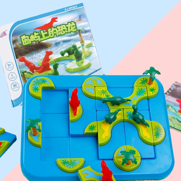 Mystic Islands 3D Path-Building Game Board Game  Funny STEM Focused Prehistoric Brain Game and Puzzle Game for Ages 6 and Up