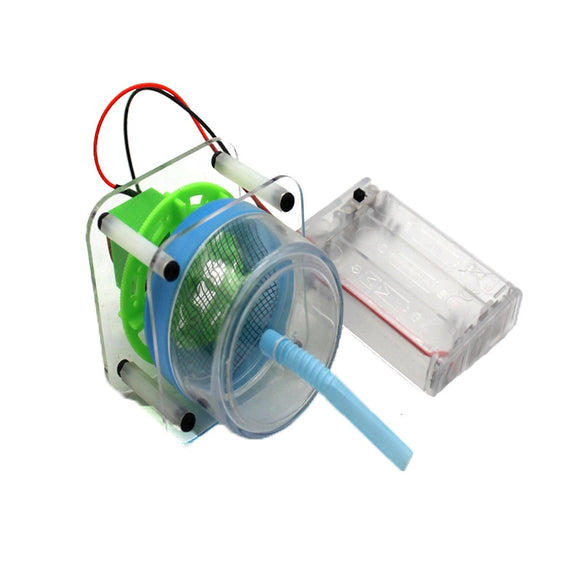 DIY Electric Dust Collector Kids Science Toys Experiment Vacuum Cleaner Kits Creative STEM Education Innovation School Project