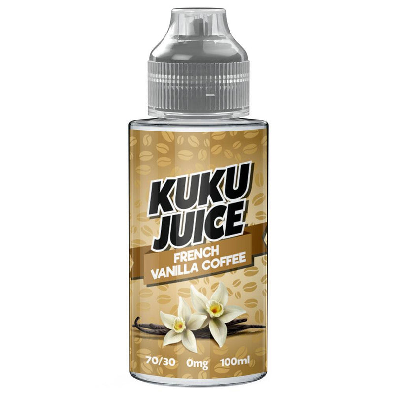 FRENCH VANILLA COFFEE 100ML BY KUKU ELIQUIDS KUKU ELIQUIDS