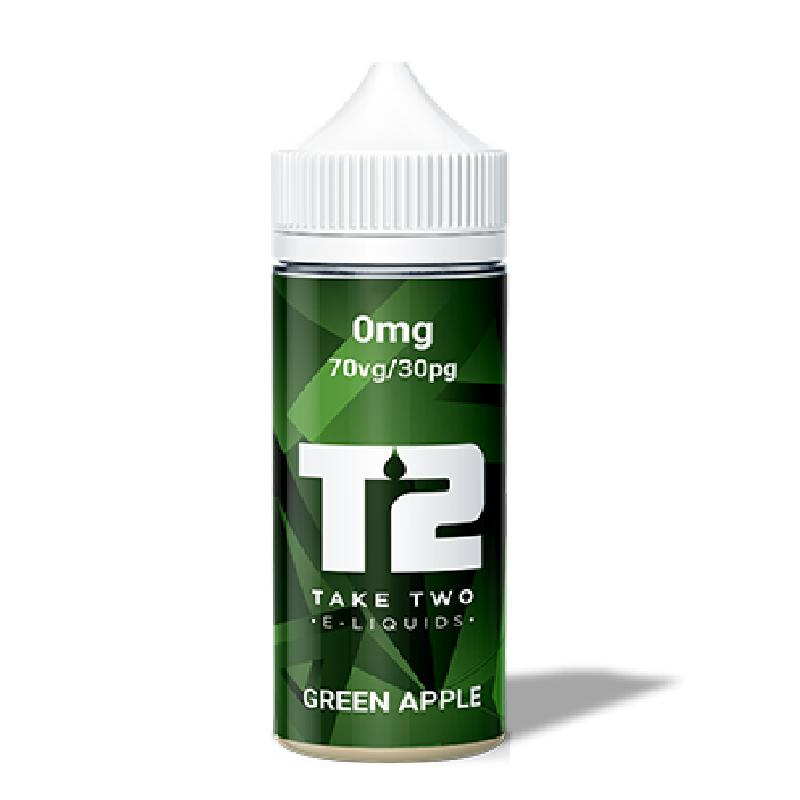GREEN APPLE ELIQUID BY T2 ELIQUIDS T2 Take Two Eliquids