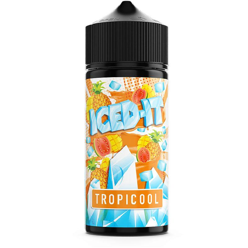 TROPICOOL 100ML BY ICED IT ELIQUIDS Iced It Eliquids