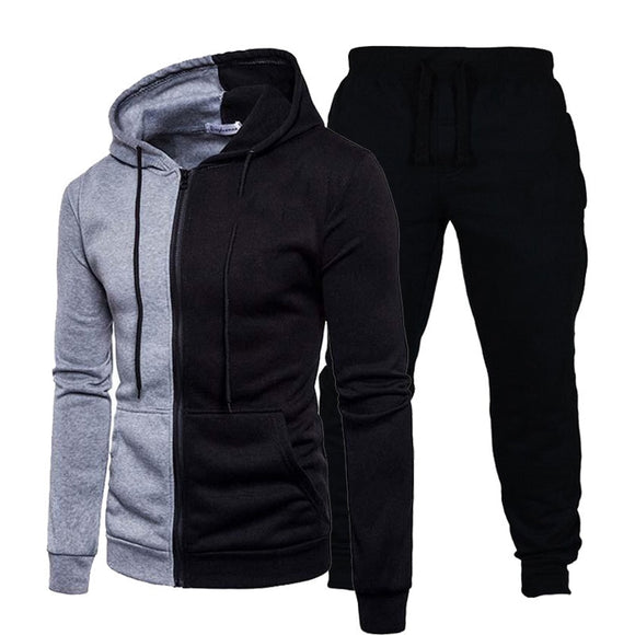 Men's Sets Hoodies Clothing Pullovers Sweater Cotton Men Fashion Sprots Tracksuits Hoodie 2 Pieces+Pants Sports Shirts Size 5XL