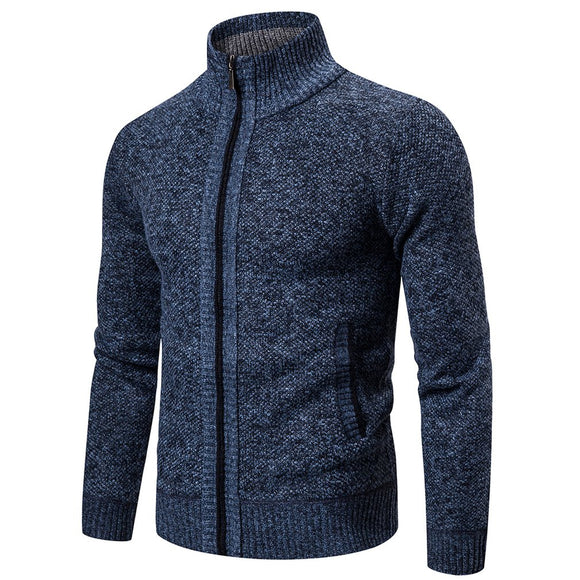Men's Sweaters Autumn Winter Warm Knitted Sweater Jackets Cardigan Coats Male Clothing Casual Knitwear wool Thick Cardigan coat