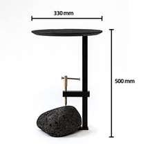Load image into Gallery viewer, Lava Stone End Table
