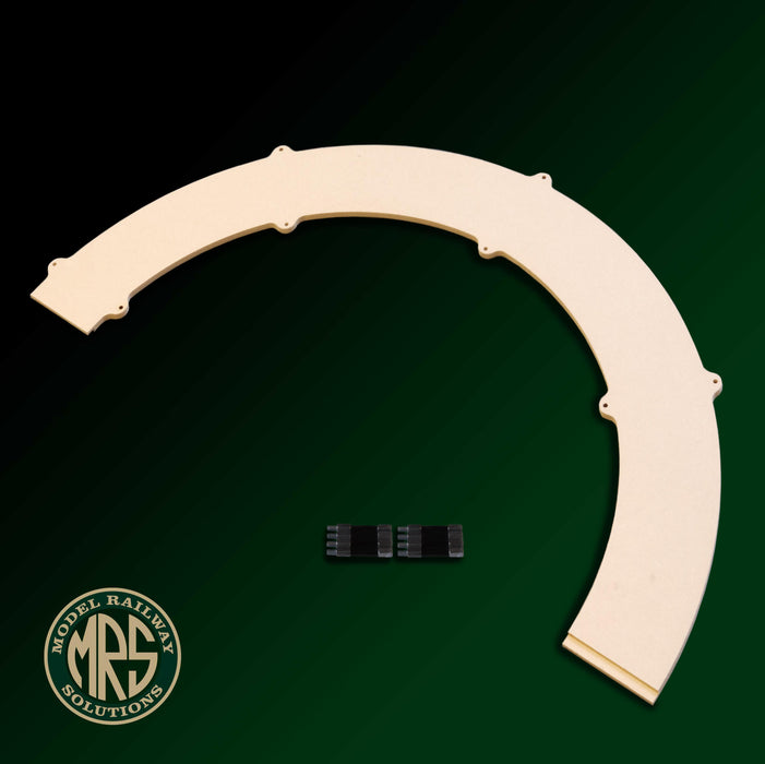 1/2 Circle Segment Kit - 2nd & 3rd radius 'OO' Gauge