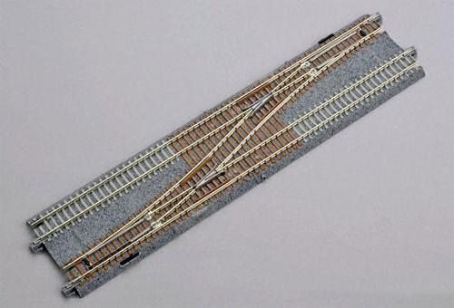 Kato 20-230 Double Track One Cross Turnout No.4 Left - N Gauge