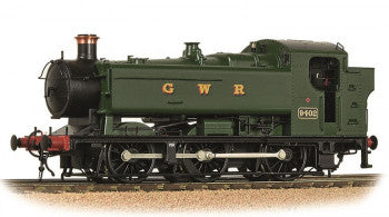 Bachmann 35-025 GWR 94XX Pannier Tank Number 9402 in GWR Green Livery - OO Gauge