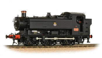Bachmann 35-026 GWR 94XX Pannier Tank Number 9487 in BR Black Livery - OO Gauge