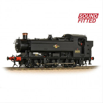Bachmann 35-027SF GWR 94XX Pannier Tank Number 9479 in BR Black Livery Late Crest DCC SOUND FITTED - OO Gauge