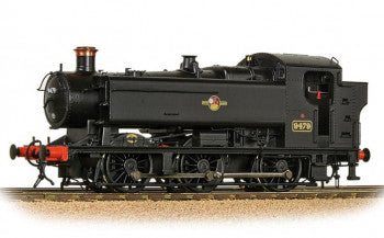 Bachmann 35-027 GWR 94XX Pannier Tank Number 9479 in BR Black Livery Late Crest- OO Gauge