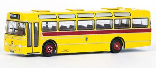 EFE 35211 36' BET Style 36' Single Deck Bus in Bournemouth Transport Yellow Livery - 1:76 Scale