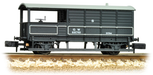 Graham Farish 377-375B N Gauge 20 Ton Toad Brake Van GWR Grey  ** This item is currently unavailable from supplier **