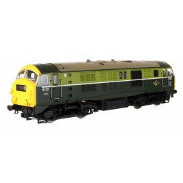 Dapol 4D-014-000 Class 29 6112 BR Two Tone Green Headcode Box Full Yellow End - OO Scale