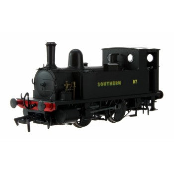 Dapol 4S-018-009 B4 Class Locomotive 0-4-0T Number 87 Southern Wartime Black - OO Gauge