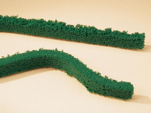 Auhagen 76-964 Dark Green Hedges (2 per pack) - OO / HO Scale