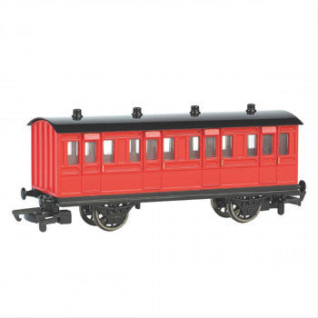 Bachmann 76038BE Red Coach (Part of the Thomas and Friends Range) - For use on OO Gauge Track