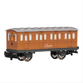 Bachmann 76044BE Annie Carriage (Part of the Thomas and Friends Range) - For use on OO Gauge Track
